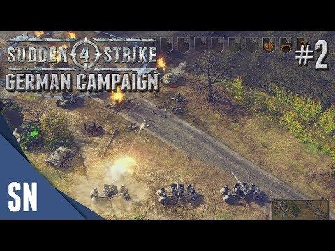 Battle #2: Battle of France! - Sudden Strike 4 - German Campaign Gameplay