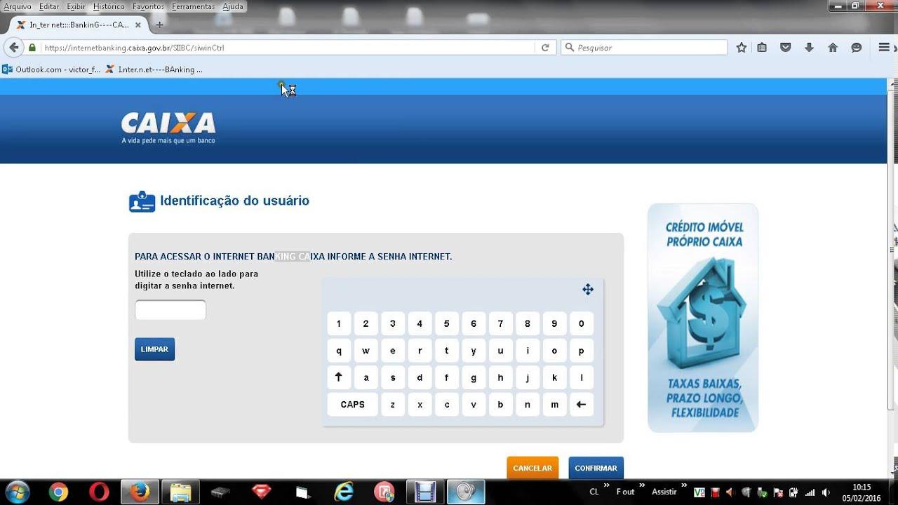 Resolvido Não Consegue Acessar Internet Banking Caixa No