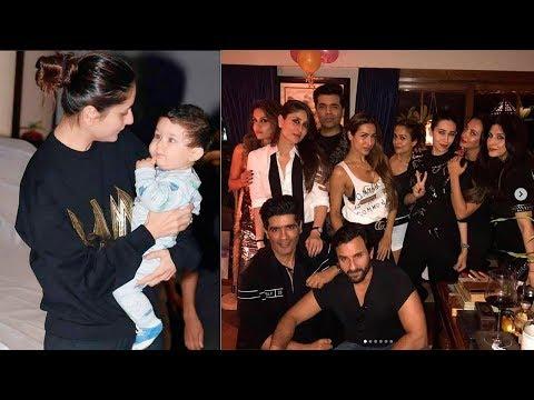 Kareena Kapoor's GRAND Birthday Bash 2017 | Karisma Kapoor, Arjun Kapoor, Malaika Arora Khan