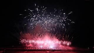 真駒内花火大会2017 第4部KURENAI 紅屋青木煙火店 ハイライト Sapporo Makomanai Fireworks 2017