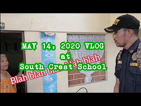 May 14 Vlog @ South Crest School