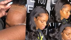 BEST & EASIEST way to MELT your lace | Beginner friendly | Frontal Quickweave