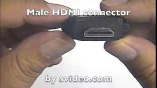 DVI-D Female to HDMI Male Adapter - Part 35-712a