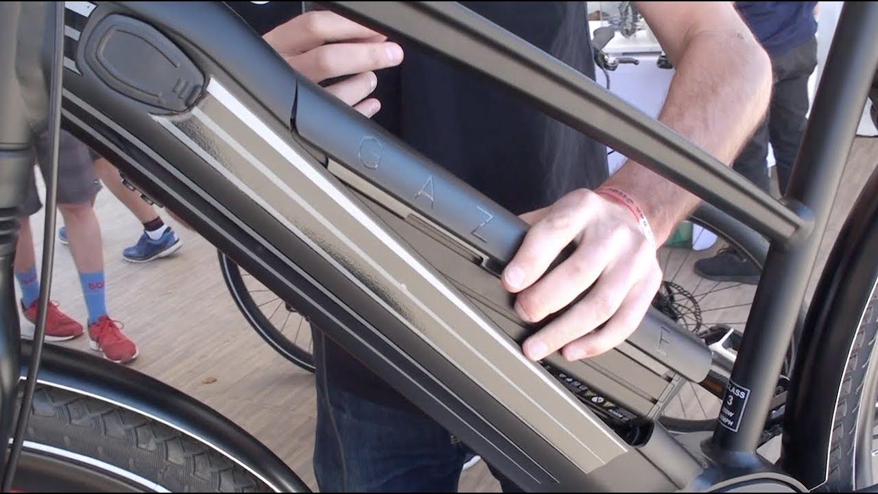 Gazelle Cityzen Speed Electric Bike With Powertube Battery