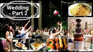 Wedding Celebration at buffet 101? |Wedding Part 2✓
