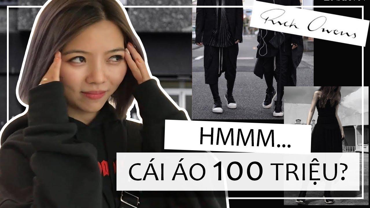 BỎ ĐỐNG TIỀN MUA ĐỒ RICK OWEN Ở HÀN QUỐC – ÁO 100 TRIỆU GIÀY 50 TRIỆU…