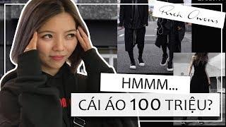BỎ ĐỐNG TIỀN MUA ĐỒ RICK OWEN Ở HÀN QUỐC - ÁO 100 TRIỆU GIÀY 50 TRIỆU...
