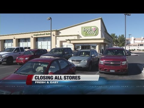 Fresh & Easy closing stores in Las Vegas