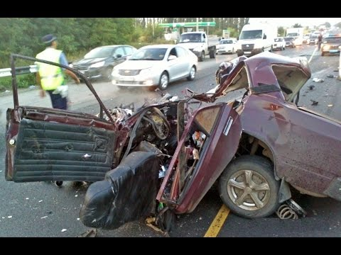 Fatal Car Accidents  In Russia 2015 Part 1