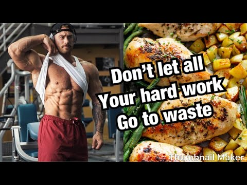 Reverse Diet & Keeping On Track Post Show | Full Day Of Eating thumbnail