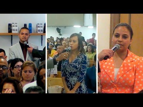 Testimonios en Elizabeth, Manhattan (Estados Unidos) y Pereira (Colombia) Septiembre 2017