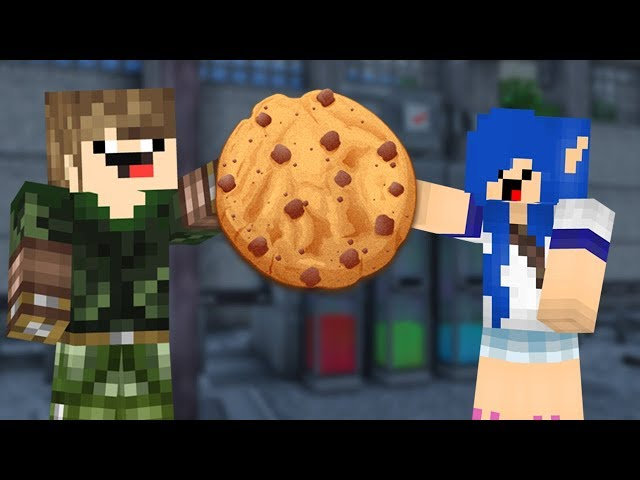 MAIOR GUERRINHA DE BISCOITOS DO MINECRAFT