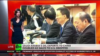 Trump silent on Saudis' oil ties to China