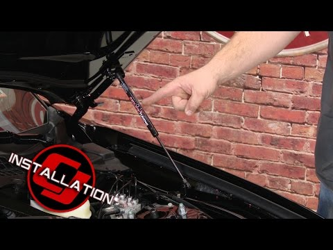 - Mustang GT/GTR Redline Tuning Hood Strut Kit QuickLIFT PLUS Bolt-In Installation