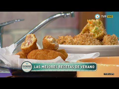 Croquetas españolas, de verduras y de arroz - YouTube  Croquetas espa�...