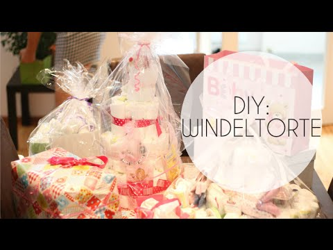 diy windeltorte ideal f r baby partys taufen etc geschenkidee youtube. Black Bedroom Furniture Sets. Home Design Ideas