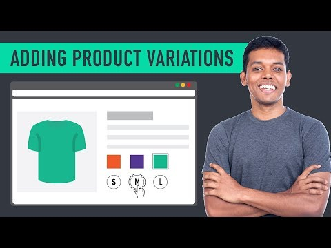 How to Add a Variable Product to Your Ecommerce Website - 동영상