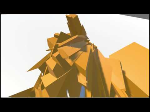 VR Procedural Mesh Splitting with Unity