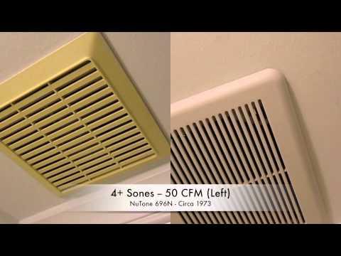 Bathroom Exhaust Fan Noise Comparison