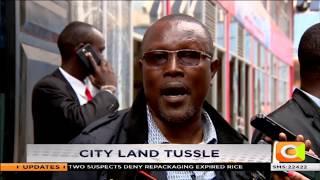 City land tussle