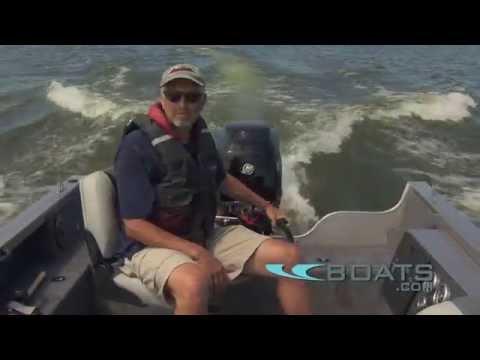 Crestliner 1750 Pro Tiller Boat Review / Permance Test