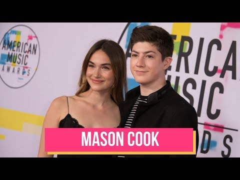 Mason Cook Shares BTS Secrets from Filming SPEECHLESS  2017 American Music Awards