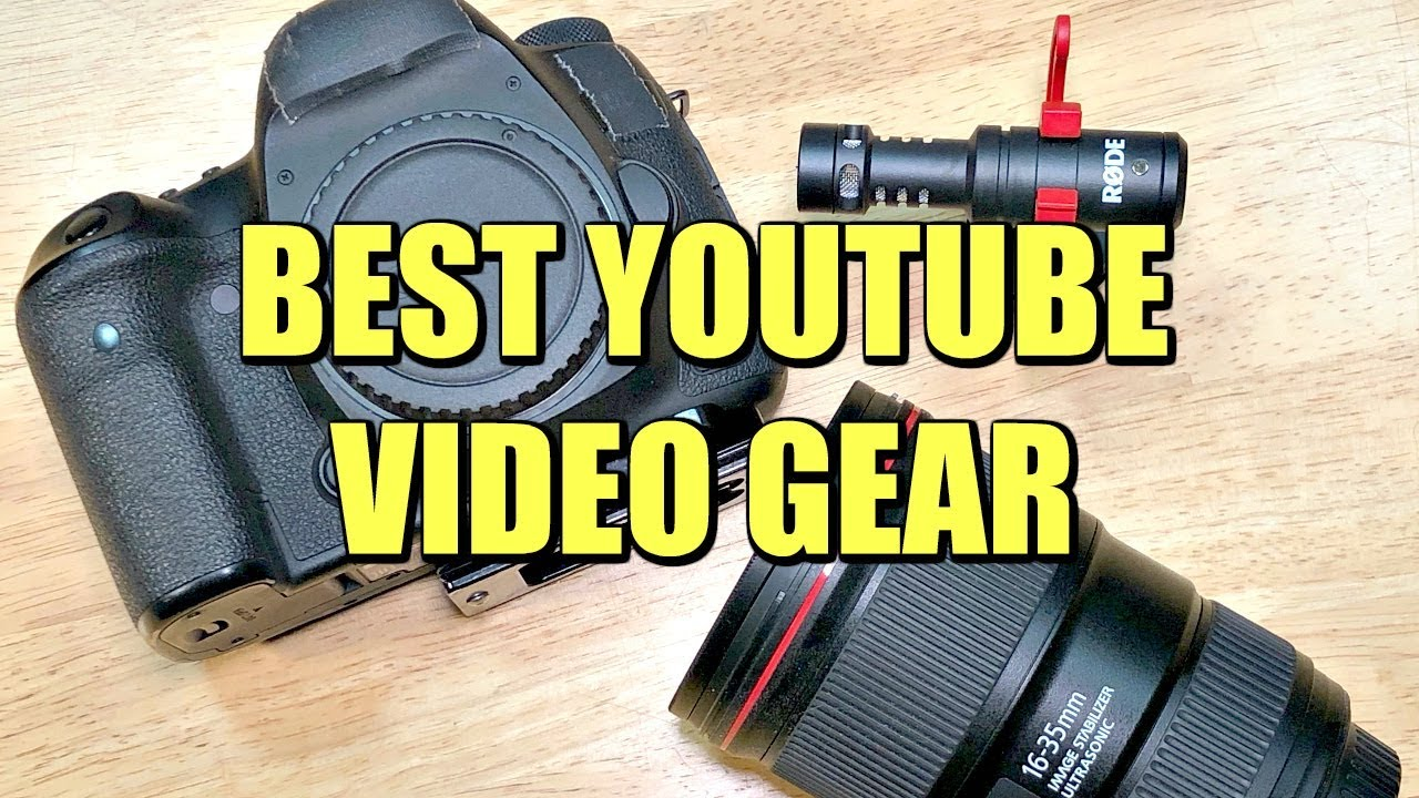best-camera-and-equipment-for-youtube-creators-2018