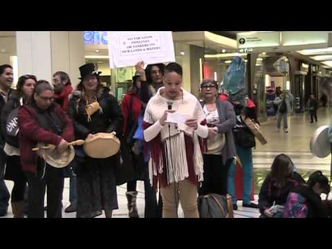 Idle No More Metrotown - Protect the Salish Seas part  4