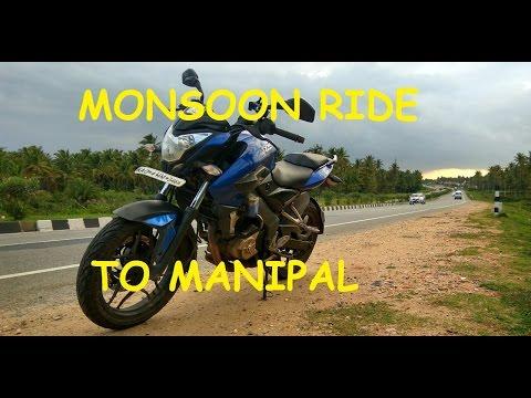 Monsoon Ride to Manipal