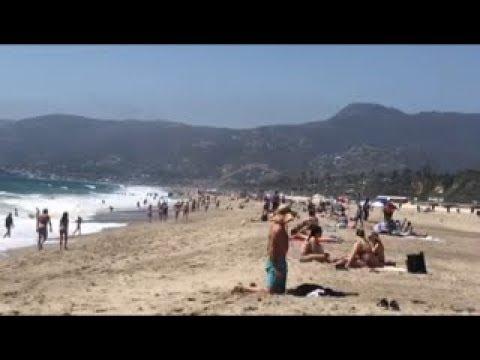 Malibu Village and Zuma Beach Vlog