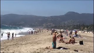 Malibu Village and Zuma Beach Vlog