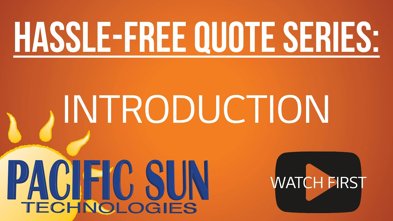 Hassle-Free Quote Video Series