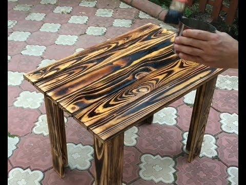 Paletler'den Bahçe masası yapımı!!