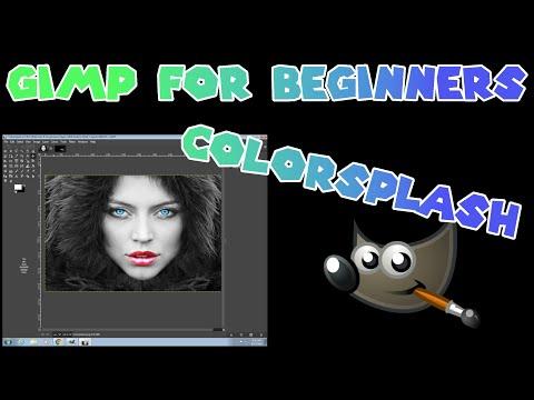 ColorSplash in GIMP 2.10.6 thumbnail