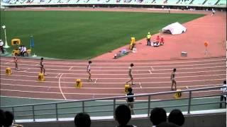 近畿インターハイ 女子800m決勝 2011/6/19 福田有以 検索動画 24