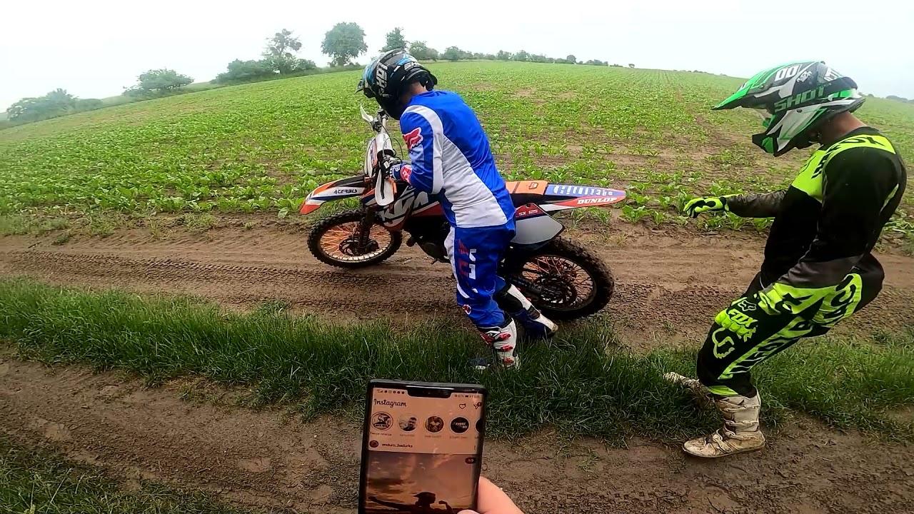 Jaro zatarł KTM wyrzucił padline w krzaki Born2Ride go holuje