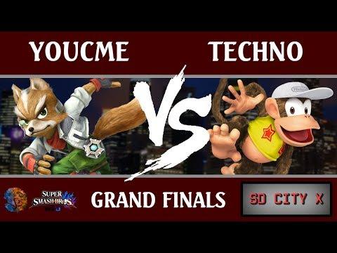SDC X - YouCMe (Fox) vs. Techno (Diddy Kong, Meta Knight) [Grand Finals]