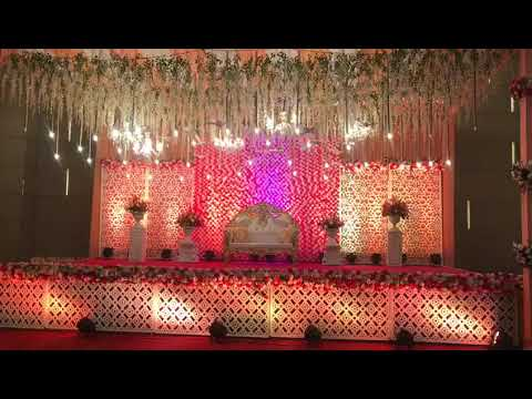Classic Theme Wedding Stage Decoration Ideas 09891478183 Youtube
