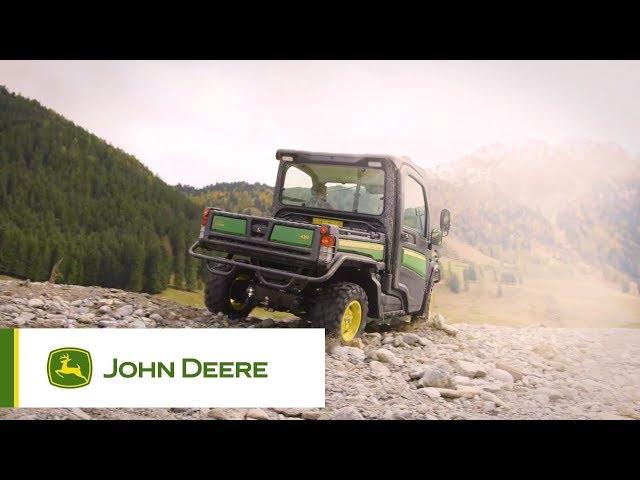 John Deere | Gator - Echte inschakelbare vierwielaandrijving