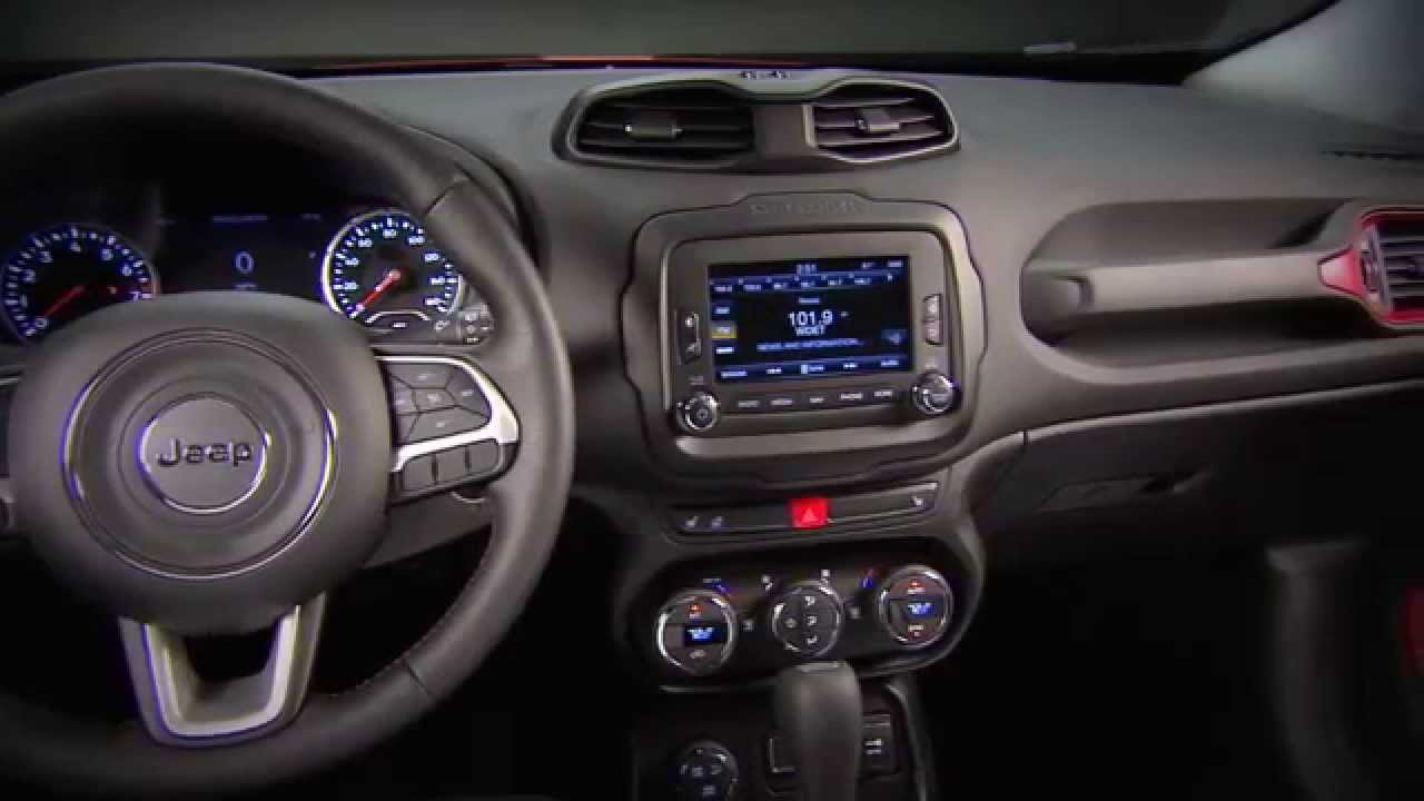 Nice New 2015 Jeep Renegade   Interior   YouTube Amazing Design