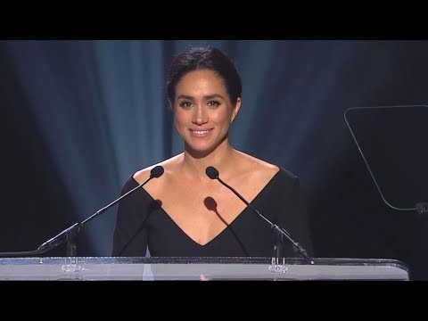 How Meghan Markle 'Sparkles' When it Comes to Humanitarian Work