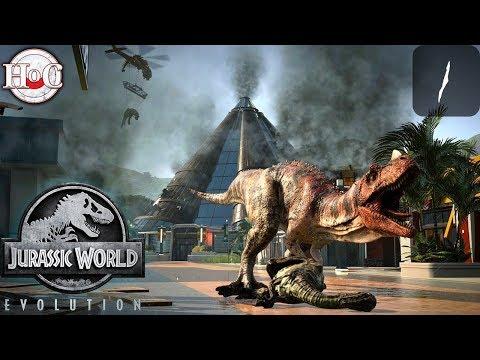 Jurassic Patchy - Jurassic World Evolution - Part 1