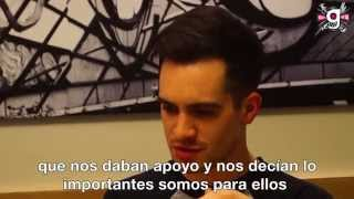 Entrevista a Brendon Urie, vocalista de Panic! At The Disco