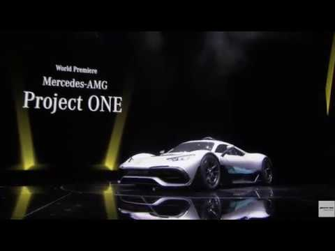 2018 Mercedes Amg Project One Reveal Youtube
