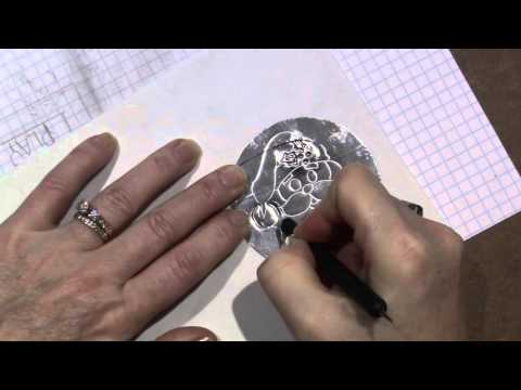 Pewter embossing Demo