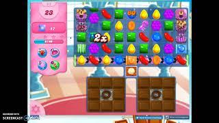 Candy Crush Level 875 Audio Talkthrough, 3 Stars 0 Boosters