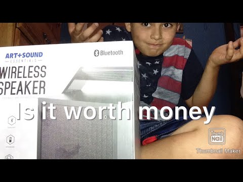 Unboxing A Wireless Speaker From Family Dollar Part 1