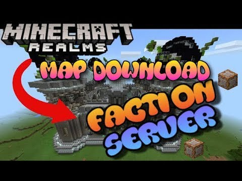 Minecraft Bedrock Edition - Factions Realm/Server Map Download