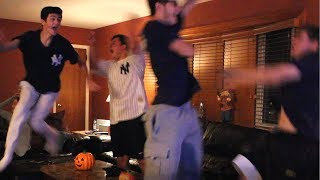 Yankees Fan Reaction - ALDS Game 2 - Yankees 6 Red Sox 2