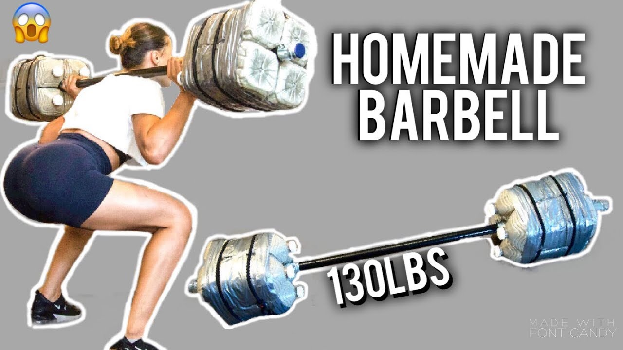 HOW TO MAKE HOMEMADE BARBELL/DUMBELL FOR FREE